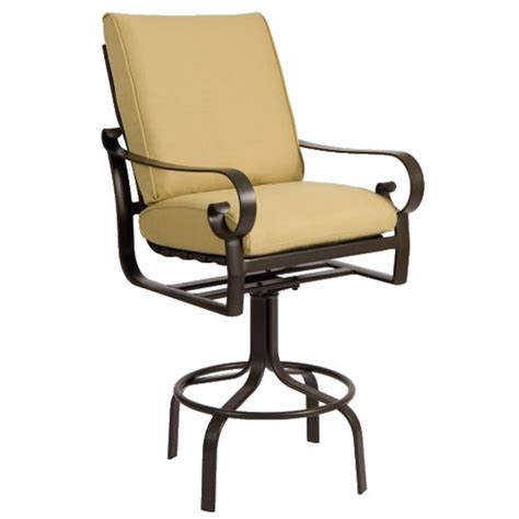 belden cushion bar stool by woodard family leisure