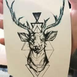 tattoo deer art sketch on instagram