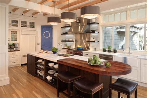 18 kitchen designs with islands 18 neat ergonomic kitchen islands designs featuring open