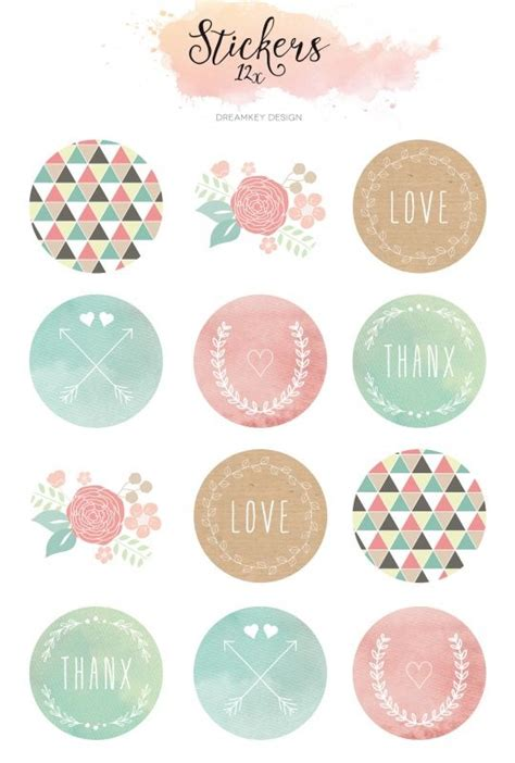 printable color stickers best 10 stickers ideas on pinterest sticker kawaii