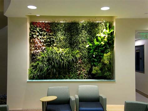 Indoor Modern Planters wall mounted systems green living technologies