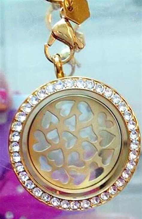 Gold Origami Owl - new gold hearts plate from origami owl https www