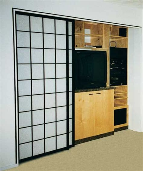 Shoji Style Closet Doors Pin By C On House Stuff Pinterest