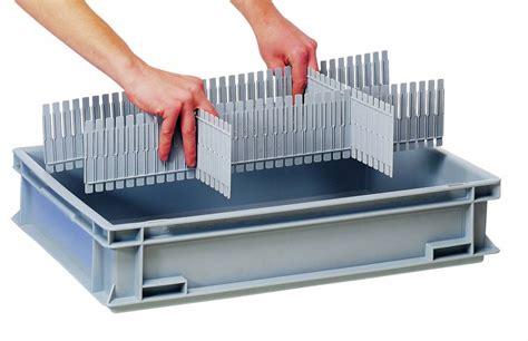 Box Plastik X 10 dividers for plastic boxes divit 400 genteso