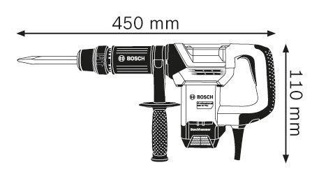 Armature Gsh 5x gsh 500 professional demolition hammer with sds max bosch
