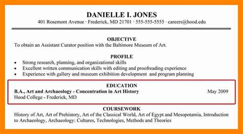 Resume For Minors by How To Put A Minor On A Resume Annecarolynbird