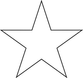 printable captain america star star clipart etc