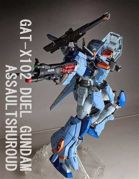 Gundam Mg 1100 Duel Assault Shroud Bandai mg 1 100 duel gundam assault shroud custom build gundam