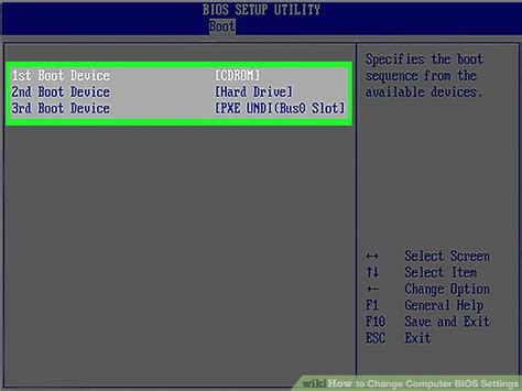 reset bios in windows 7 how to change computer bios settings 11 steps with pictures