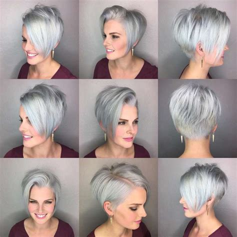 2017 S Hairstyles For Grey Hair by Hairstyle Grey 2017 11 Fashion And