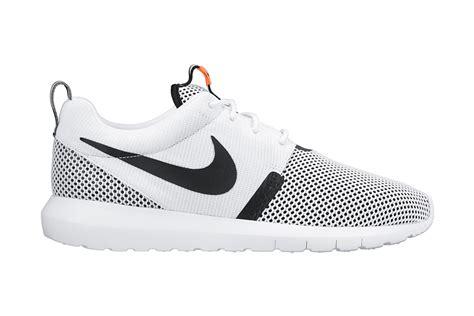 Nike Roshe Run Black White nike roshe run nm white black lava hypebeast
