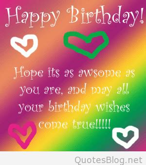 short birthday quotes  messages