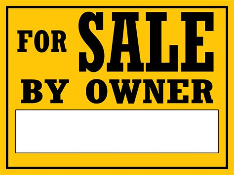 Custom Yard Signs For Sale Template