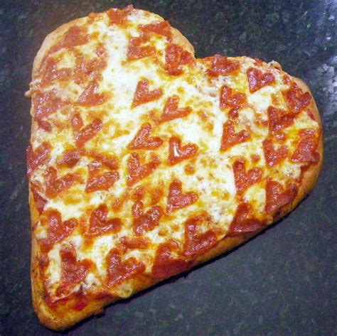 valentines day pizza year on the grill i pepperoni pizza happy