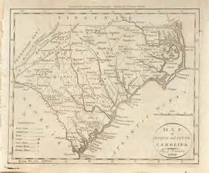 carolina map antique maps of south carolina