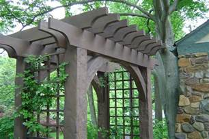 Wood Entry Arbor Arbor Gate Wooden Arbor Tool Galleries