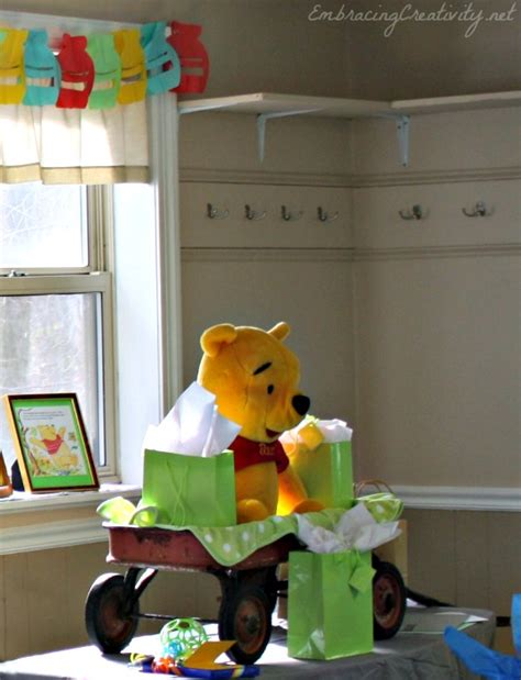 winnie the pooh baby shower disneyside embracing creativity