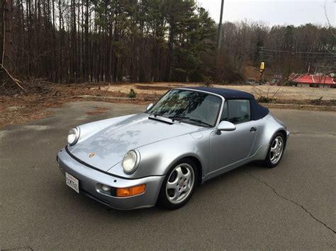 1992 porsche 911 america roadster german cars for sale blog