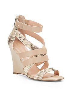 gold colored wedge sandals kleider