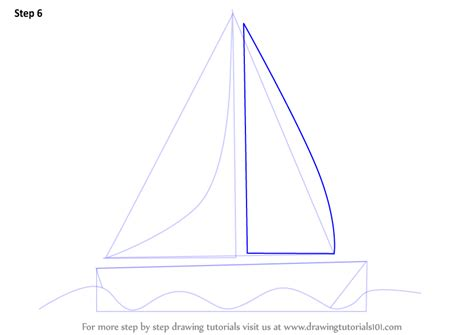 boat shape drawing learn how to draw a boat for kids boats and ships step