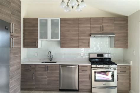 Tile Backsplash Ideas For Kitchen by Can Glass Subway Tile Improve Your Ikea Kitchen Design