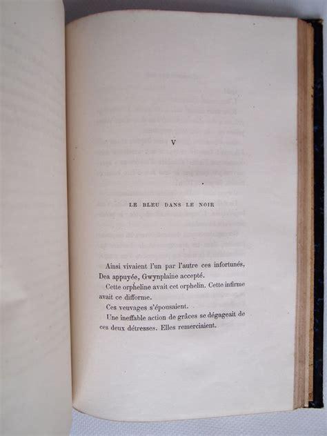libro lhomme qui rit hugo l homme qui rit prima edizione edition originale com