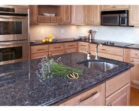 Kitchen Granite Countertops Kitchens With Blue Countertops