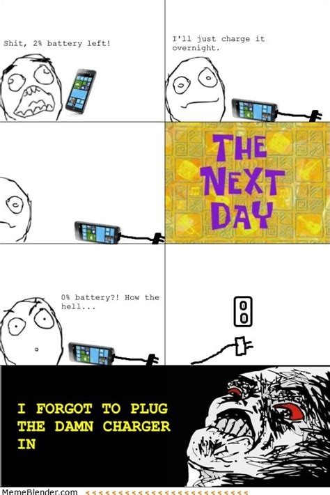 Meme And Rage Comic - rage comics charging your phone meme collection