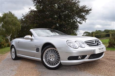 sl55 amg for sale used silver mercedes sl55 amg for sale buckinghamshire