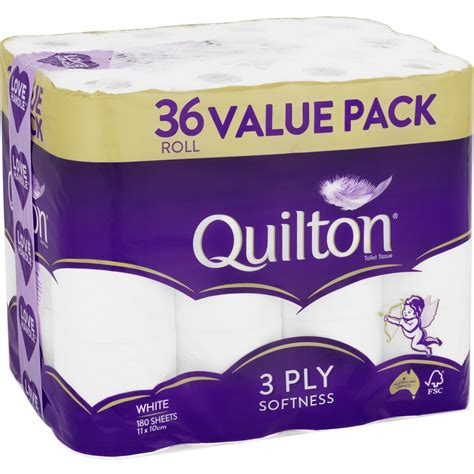 quilton  ply toilet tissue  pack big