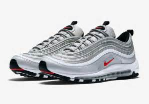nike air silver air max 97 silver europe and usa release dates