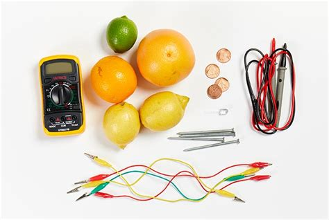 fruit battery tutorial how to a record with home made fruit