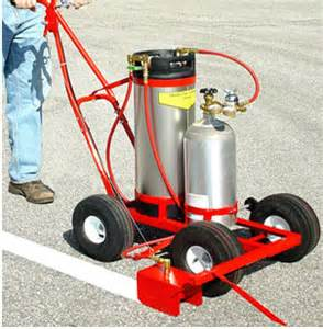 parking lot painting machine parking lot line paint striping machines information