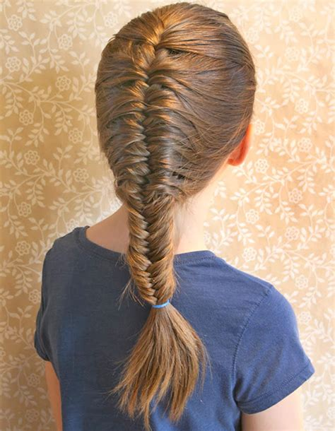 kids fishtail photo with hair added 10 school hairstyles that fit under a hat mum s grapevine