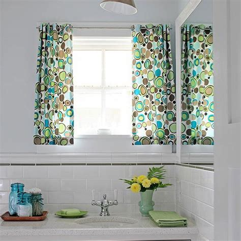 Bathroom Curtain Ideas For Windows Fancy Bathroom Curtains For Decorating Home Ideas With