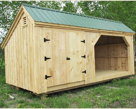 Diy Timber Shed by 3 5 Cord Wood Shed And Storage Building