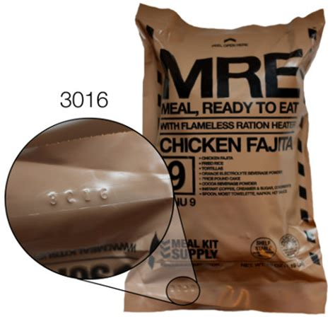 What Is The Shelf Of Mre Meals by Mre Date Code Converter Meal Kit Supply