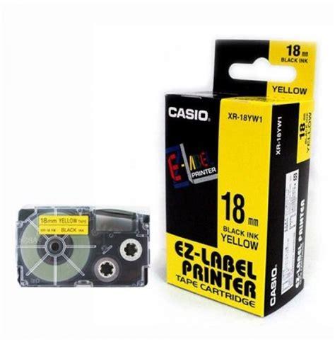 Pita Ez Label Printer Casio 24mm barcode casio 18mm xr18we1