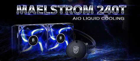 Liquid Cooler Deepcool Maelstorm 240t Liquid Cooler Limited deepcool maelstrom 240t aio liquid cooling kit asianic distributors inc philippines