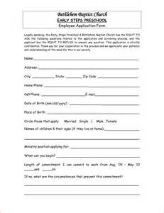 6 Sample Application Letter For Preschool Teacher Basic