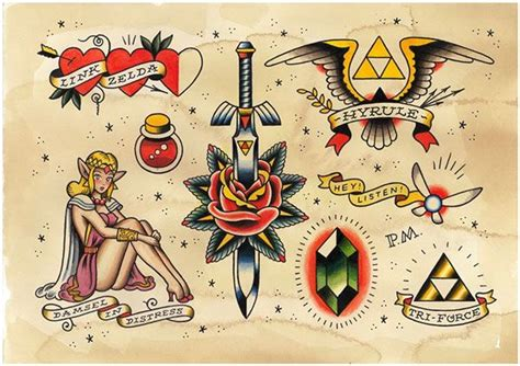 tattoo flash video 17 best images about tattoo idea video game on pinterest