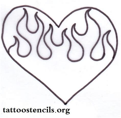 Drawing Hearts by Drawings Of Hearts With Flames Design Gallery