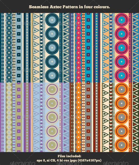 aztec pattern for photoshop seamless aztec pattern graphicriver