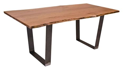 living edge dining table circle furniture live edge vergennes dining table