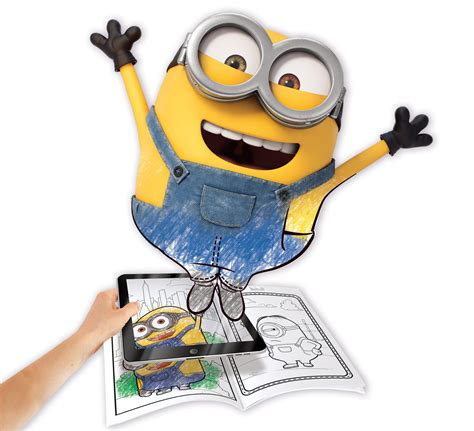 crayola coloring pages minions amazon com crayola color alive animated minions pages