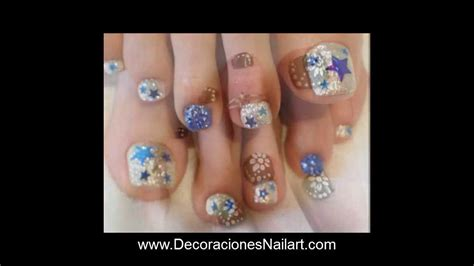 de decoraciones para las u as youtube newhairstylesformen2014 com dise 241 os de u 241 as para pedicure decoraciones nail art youtube