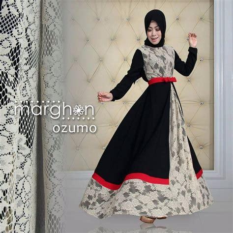 Monza Syari new model baju muslim berbahan brokat