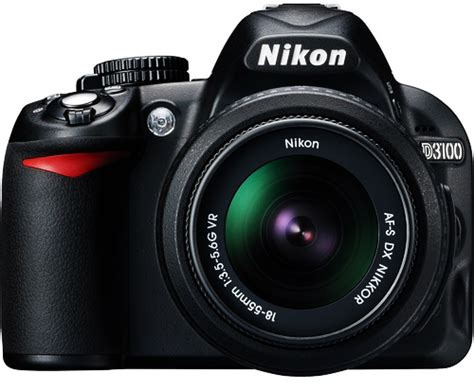 nikon d3100 digital slr with 18 55mm nikkor vr lens uk wc1