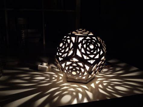creative  eco friendly cardboard lamps