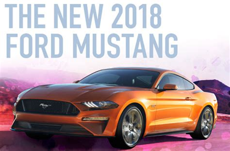Costco Giveaway 2017 - win a 2018 ford mustang